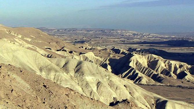 Cảnh quan trê con đường hương liệu và các thành phố hoang mạc vùng Negev