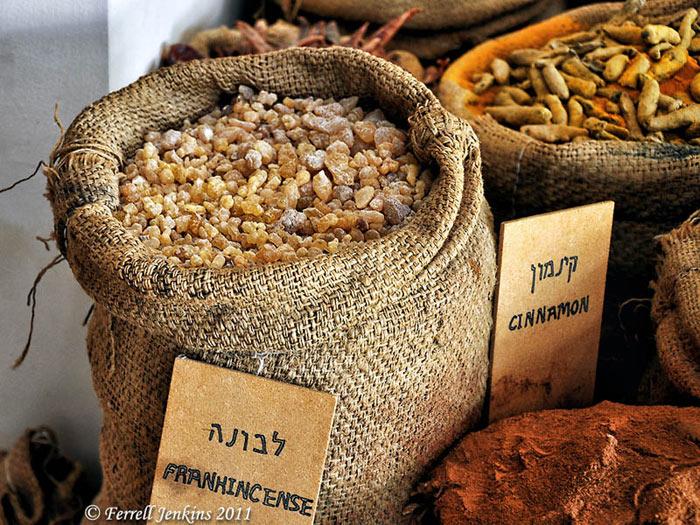 Những hương liệu và gia vị được các nhà buôn vận chuyển từ Ả rập xuyên sa mạc qua Địa Trung Hải để trao đổi, buôn bán