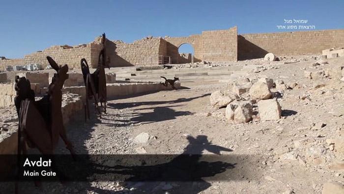 Hiện nay, Con đường hương liệu và các thành phố hoang mạc vùng Negev đang gặp phải mối đe dọa lớn đó chính là sa mạc