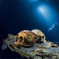 """Thế giới ngầm và tục hiến tế """"lạnh gáy"""" của người Maya"""