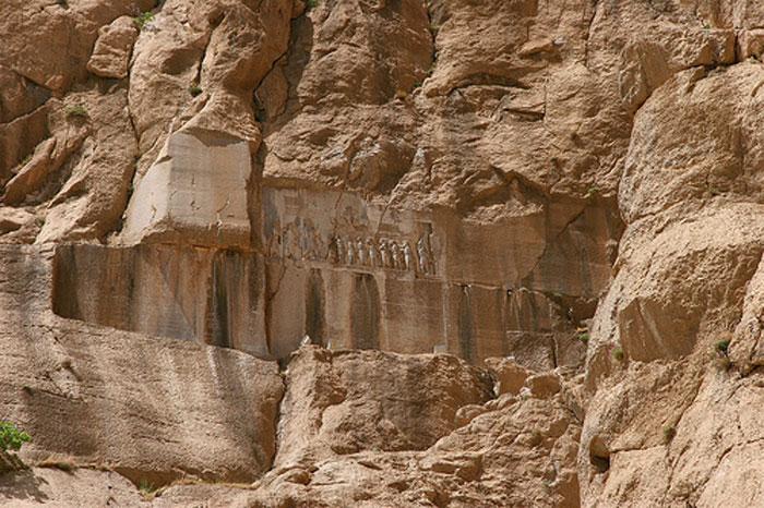 Khu vực khảo cổ Bisotun tại Iran