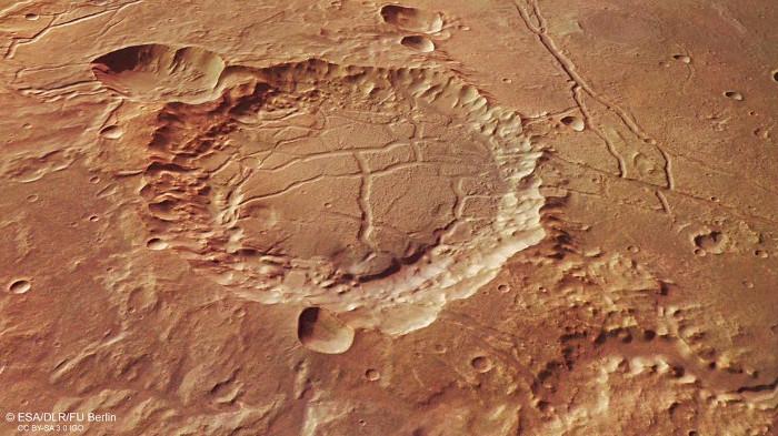 Dấu vết của nước để lại trên bề mặt sao Hoả tồn tại dưới những hình dạng rất khác biệt.