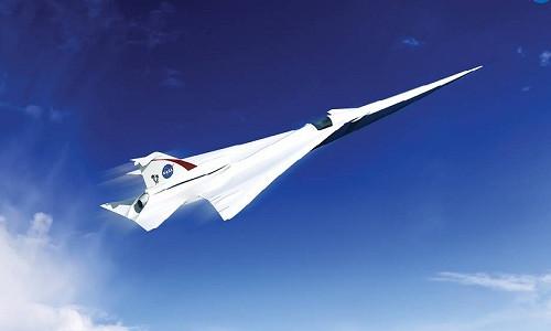 Mẫu máy bay siêu thanh không ồn đầu tiên do NASA chế tạo có thể cất cánh vào năm 2020.