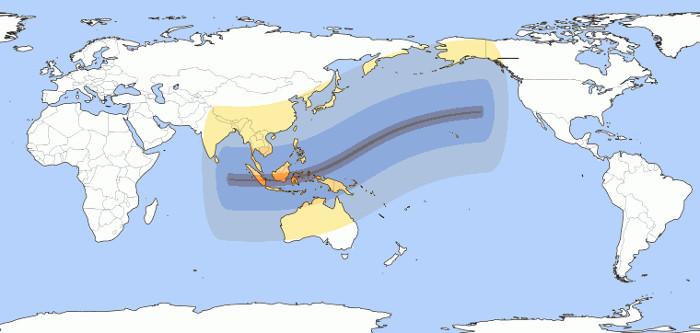 Độ che khuất cao nhất của nhật thực ở Việt Nam là khoảng hơn 59%.