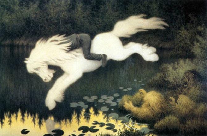 Kelpie là quái vật tới từ các con sông và hồ ở Scotland.