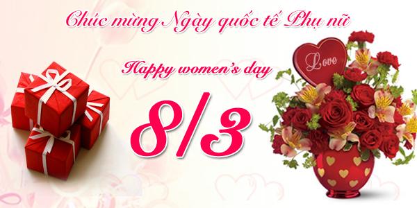 Thiệp chúc mừng ngày quốc tế phụ nữ 8-3