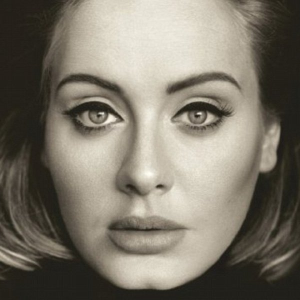 "Ảnh bìa album ""25"" của Adele."