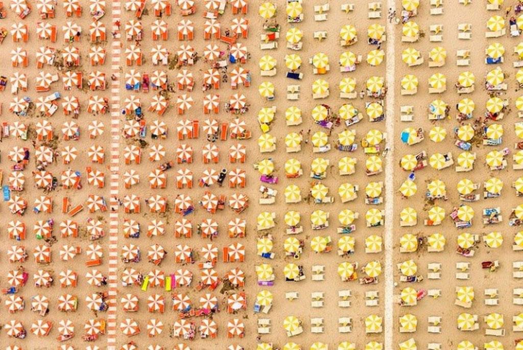 Một bãi biển Ý