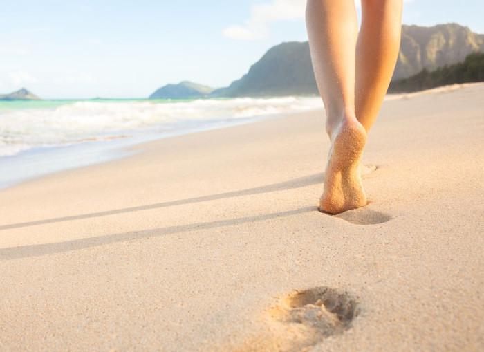 Đôi chân là tài sản quý giá mà tự nhiên ban tặng.