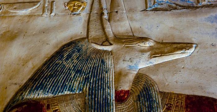 Thần Anubis.