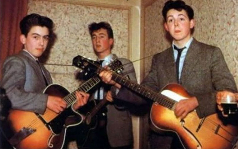 The Beatles năm 1957