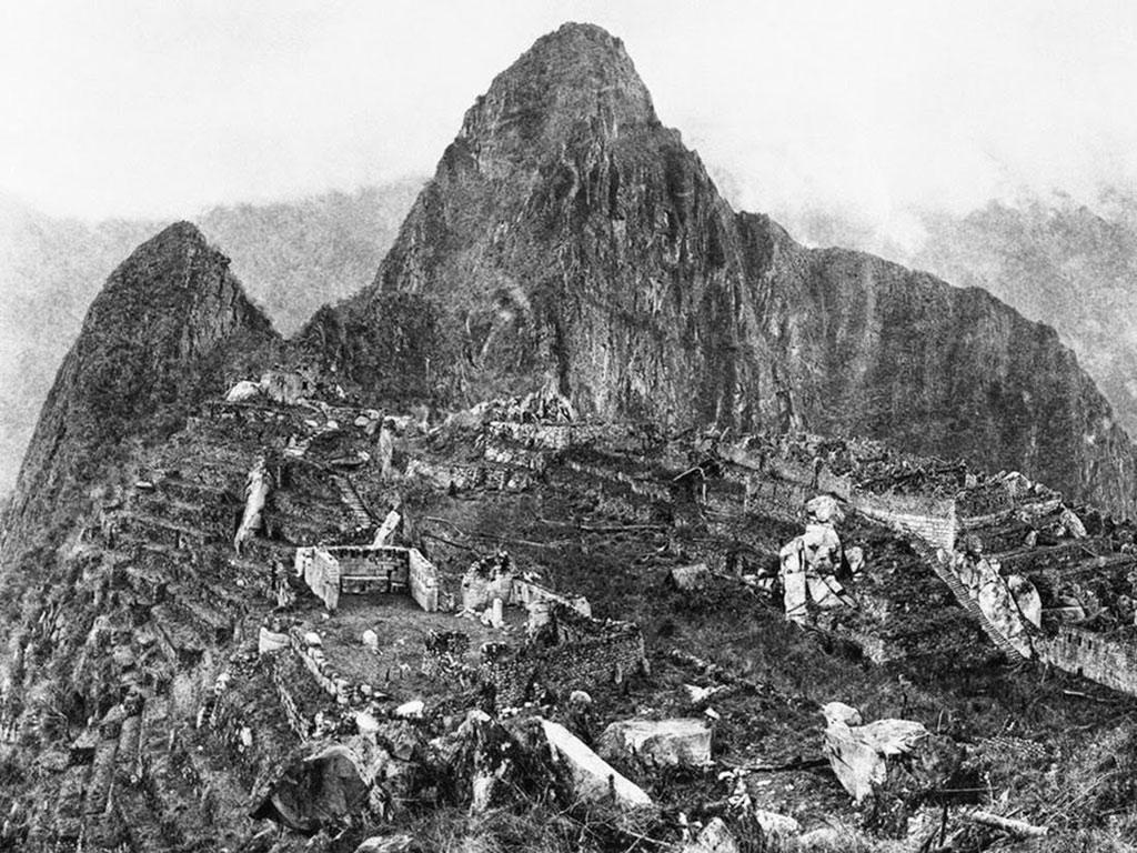 Bức ảnh đầu tiên của thành phố Inca Machu Picchu năm 1912