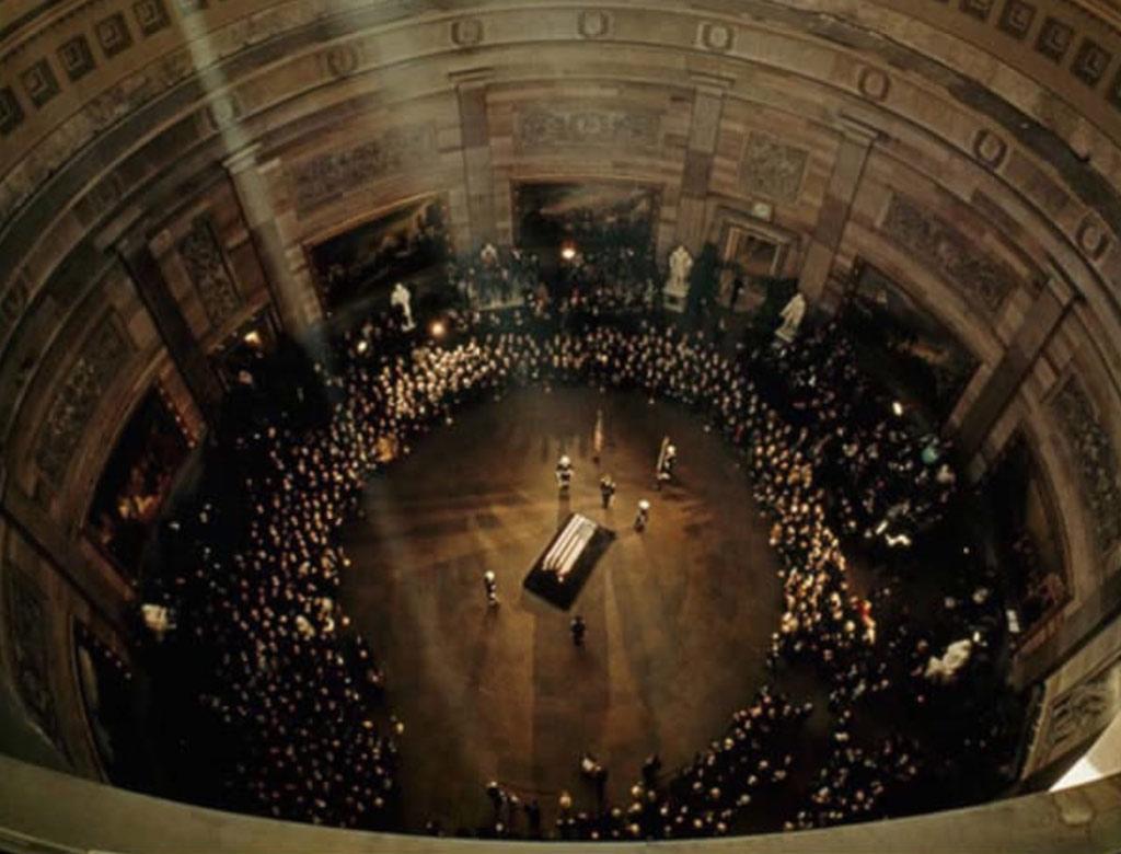 Đám tang của JFK ở Capitol năm 1963