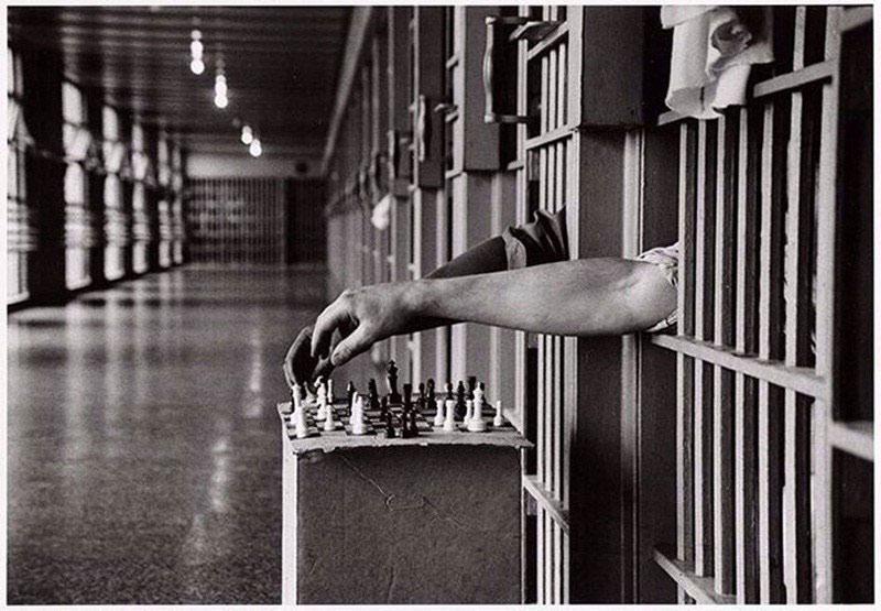 Chơi cờ tại nhà tù Attica (USA)