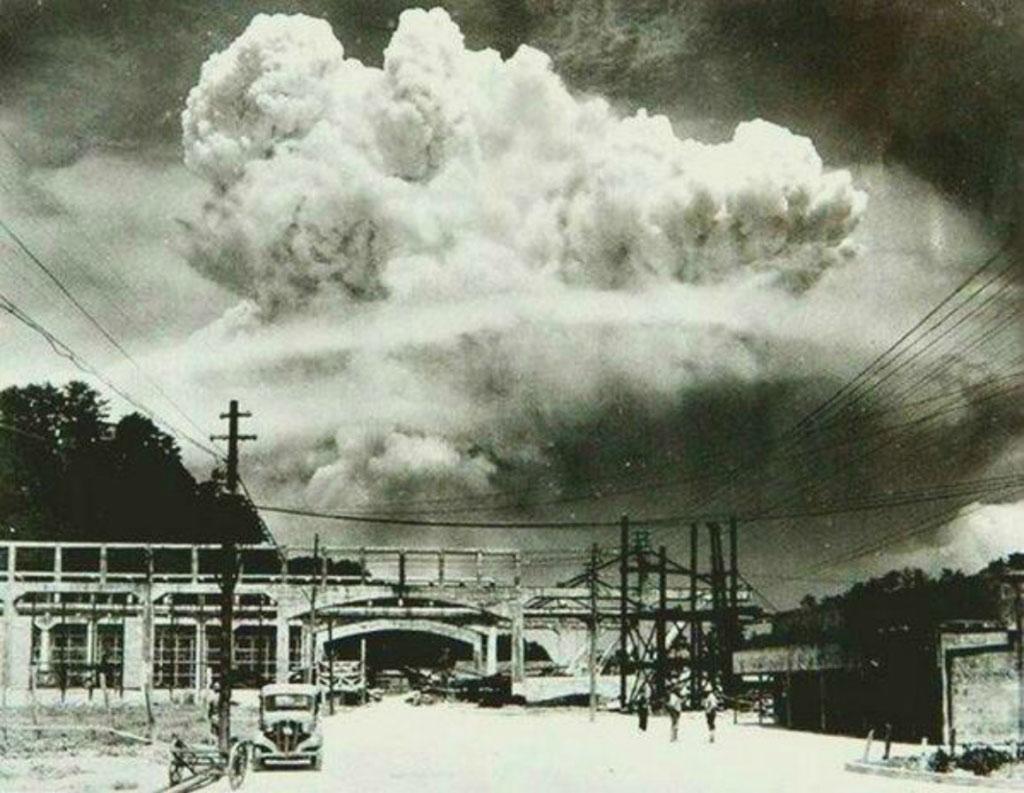 Nagasaki (Nhật Bản), 20 phút sau vụ nổ bom nguyên tử vào năm 1945