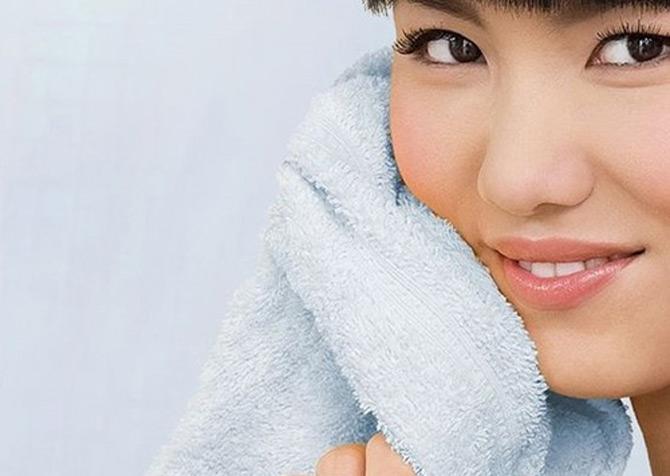 Không nên dùng chung khăn mặt