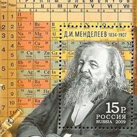 6/3/1869: Bảng tuần hoàn hóa học ra đời