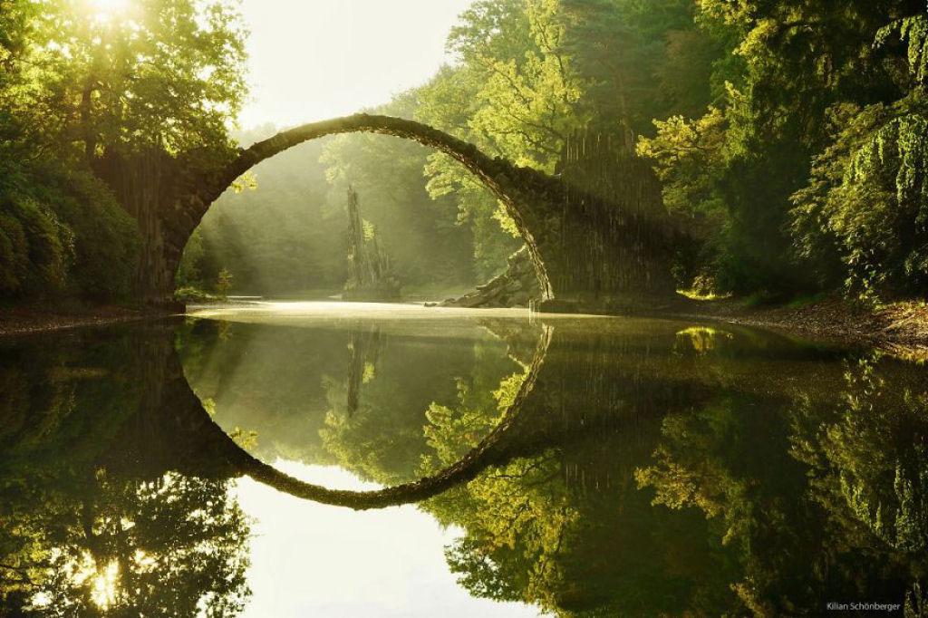 Rakotz Brücke, Đức