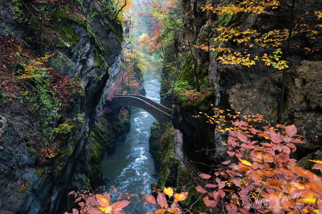 Gorge De L'areuse, Thụy Sĩ