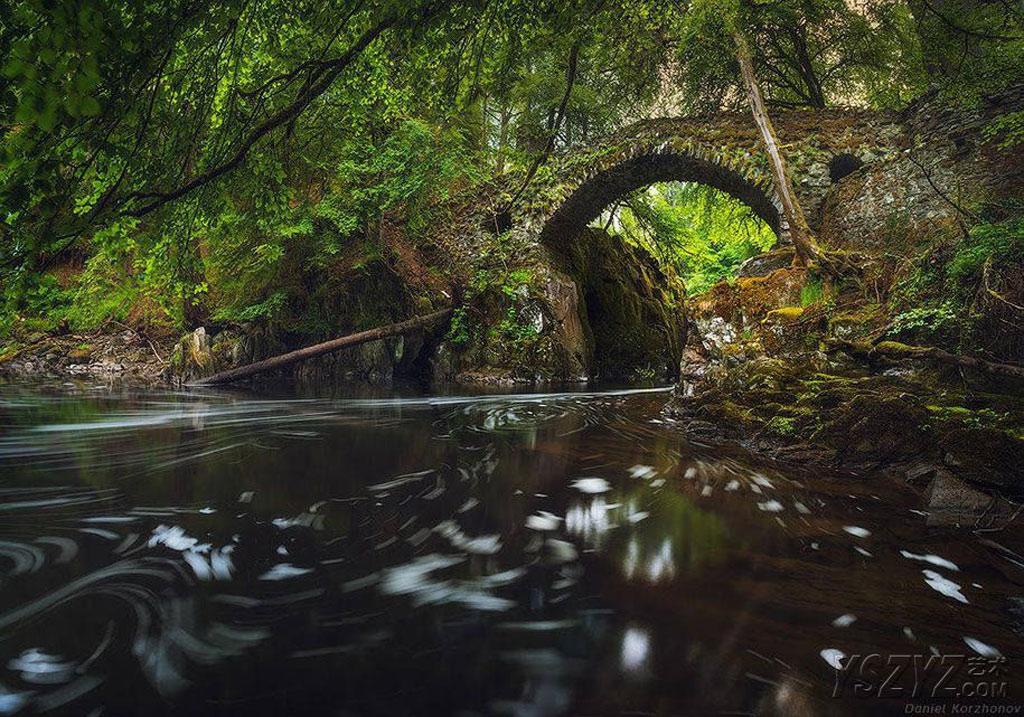 Cầu Hermitage, Scotland