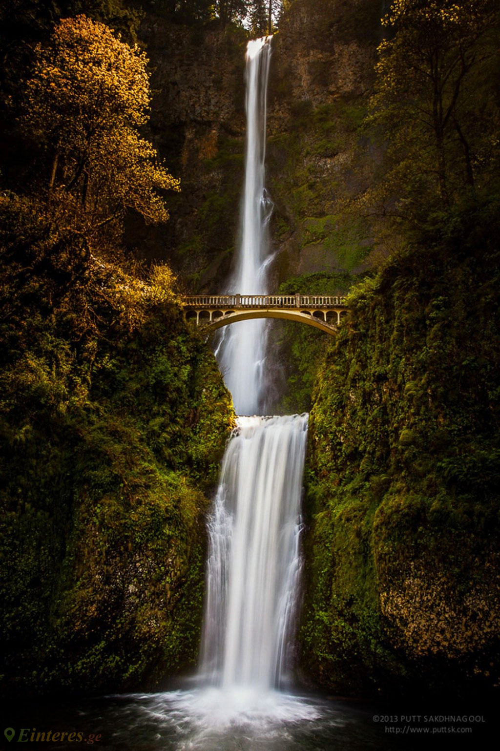 Thác Multnomah, Oregon, Mỹ
