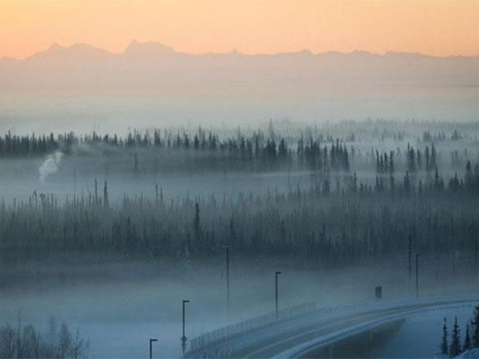 Sương mù băng (Frozen fog).