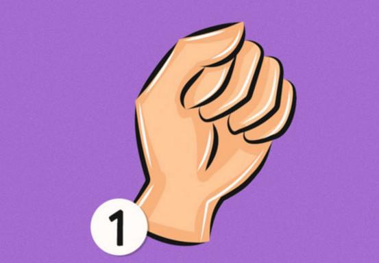 Cách nắm tay này cho thấy bạn là người rất nhiệt tình giúp đỡ người khác.