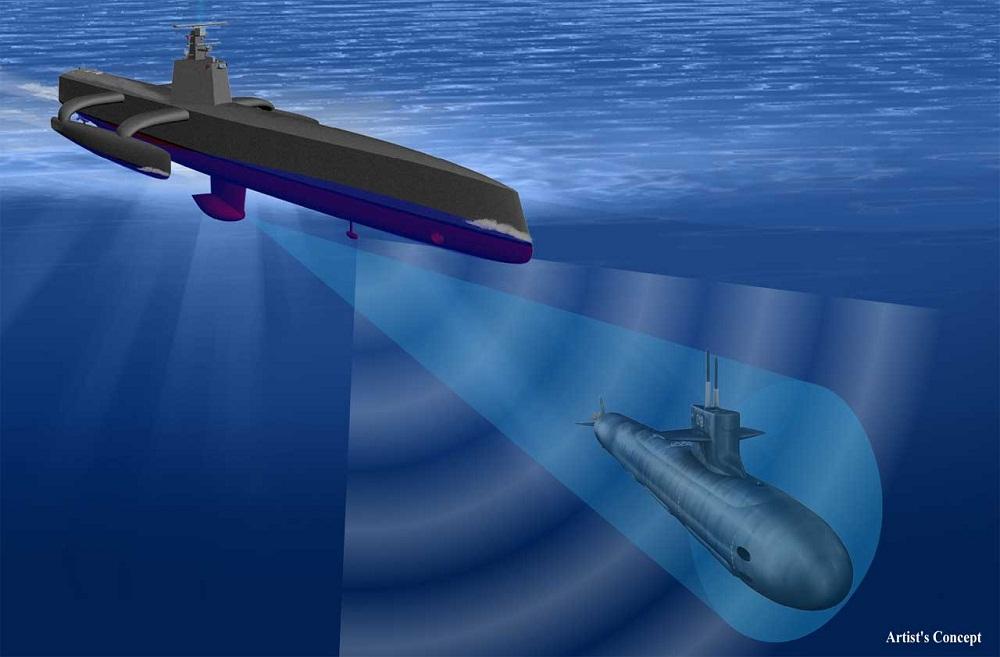 Máy săn tàu ngầm không người lái