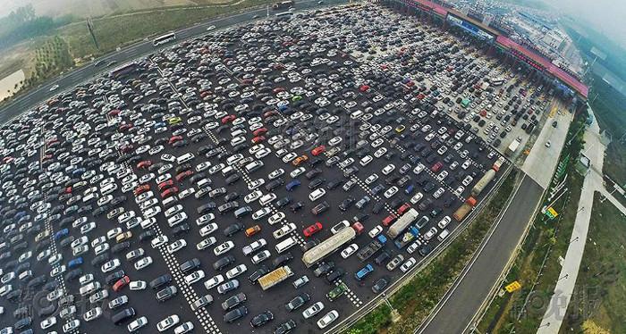 Tắc đường ở Hà Nội hay Sài Gòn vẫn là muỗi so với Trung Quốc.