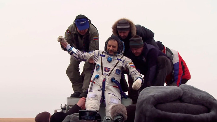 Phi hành gia Nga Mikhail Kornienko.