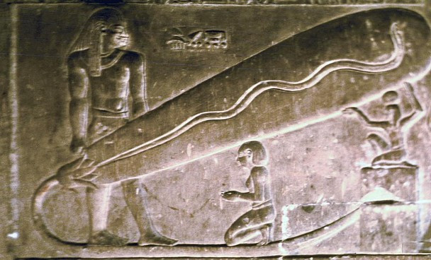 Hình ảnh cho thấy người Ai Cập cổ đại đã sử dụng bòng đèn để chiếu sáng.