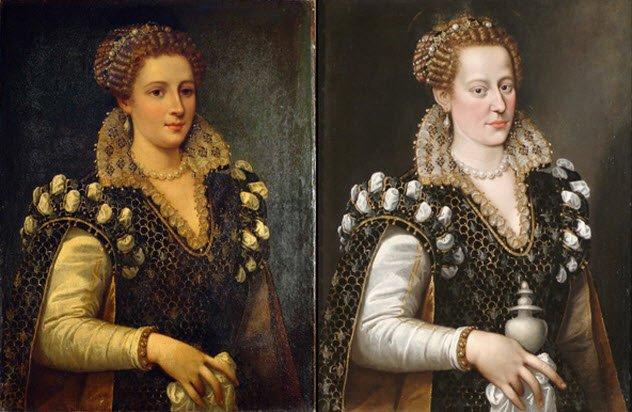 Các chuyên gia cho rằng bức tranh đã được chỉnh sửa để trở nên dễ nhìn và dễ bán hơn.