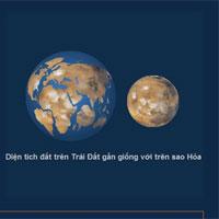 Sao Hỏa khác Trái Đất như thế nào?