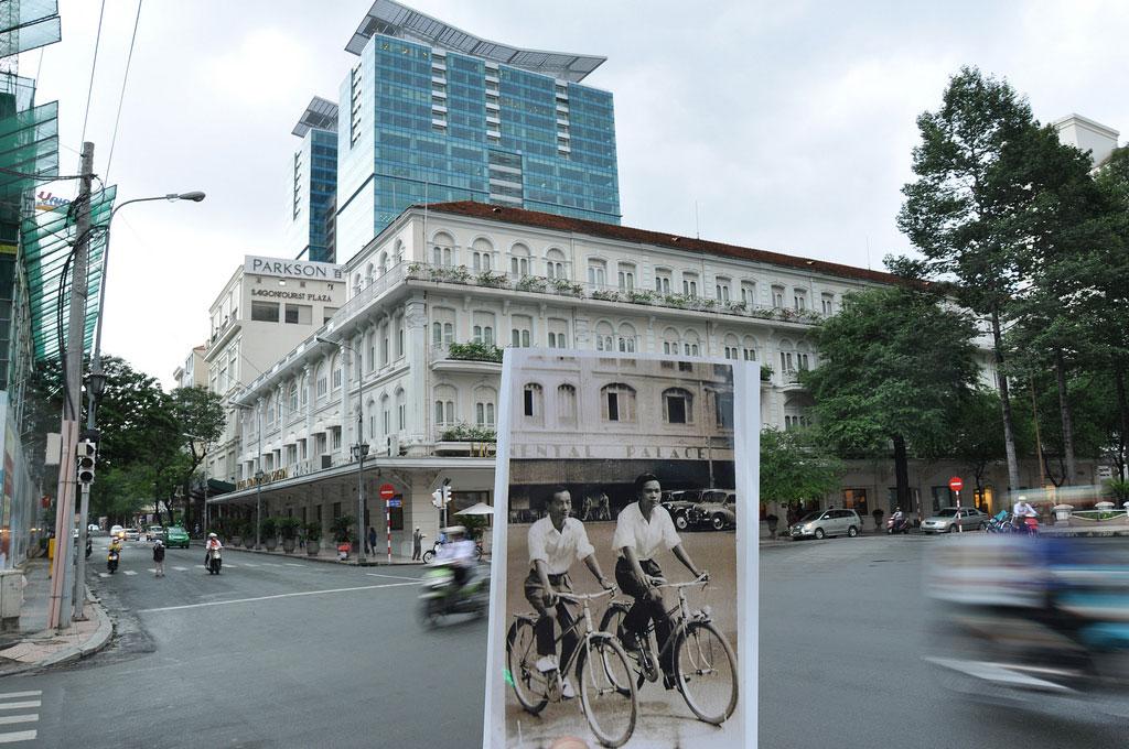 Những con đường trung tâm của Sài Gòn nay so với trước kia dường như vẫn còn giữ nguyên nét kết cấu, cũng như độ rộng lớn của nó