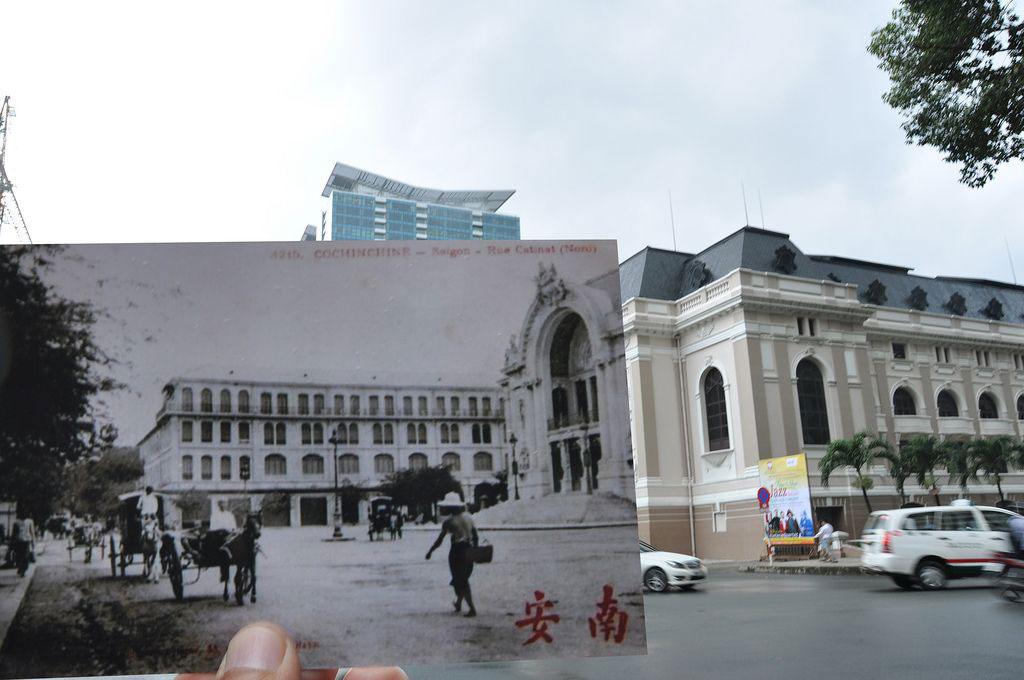 Nhà hát Thành phố dường như vẫn không hế thay đổi qua bao năm tháng,