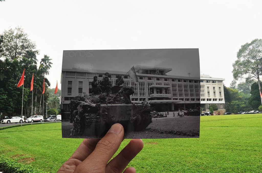 Và Dinh độc lập là những kiến trúc lịch sử vẫn còn nguyên vẹn và giữ gìn được nguyên giá trị lịch sử, kiến trúc và nét đặc trưn riêng của thành phố