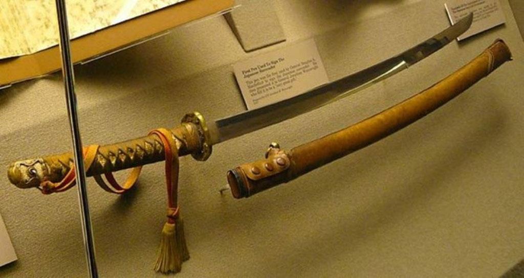 Thanh kiếm quý do nghệ nhân Fujiwara Kanenaga rèn trong khoảng 1640-1680