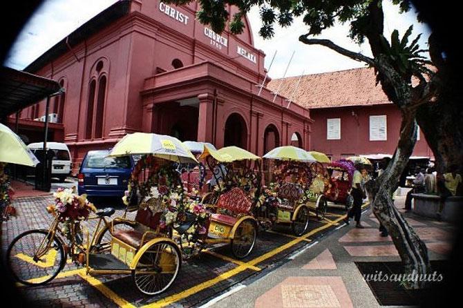 Cố đô Melaka tại Malacca, Malaysia