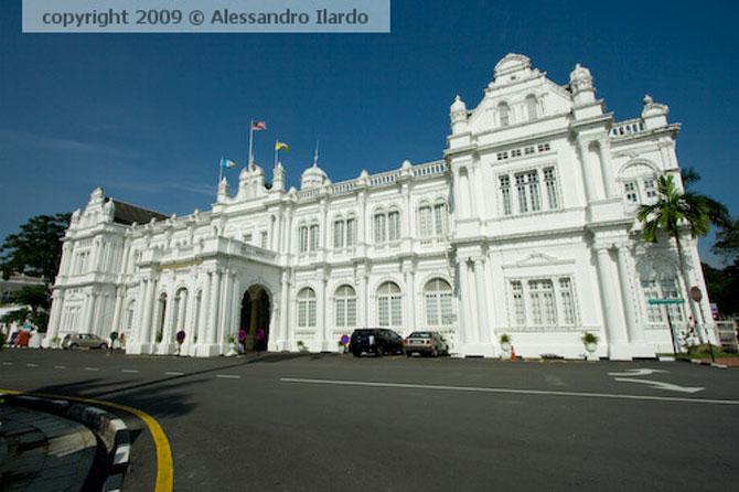 Thị trấn George là thủ phủ của bang Penang của Malaysia.