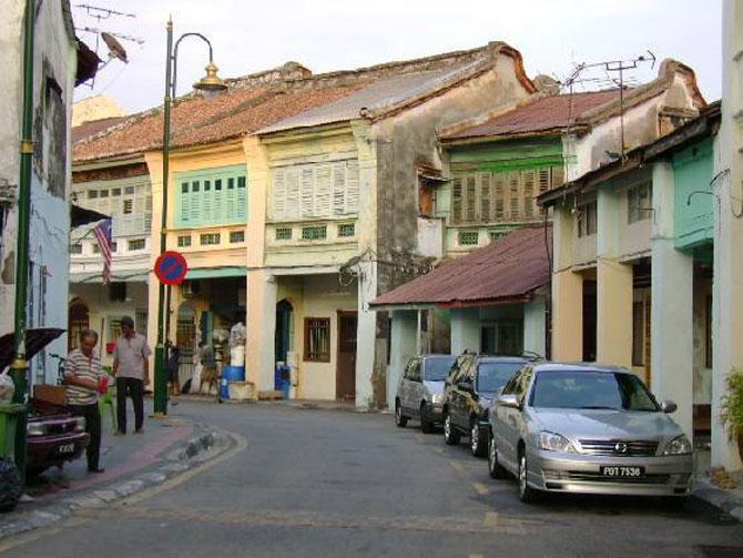 George town có vẻ đẹp cổ kính pha lẫn hiện đại tạo thành một nét văn hóa độc đáo cho thành phố
