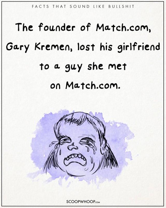 Người sáng lập Match.com, Gary Kremen để mất bạn gái của mình vào tay một kẻ cô ấy gặp trên Match.com