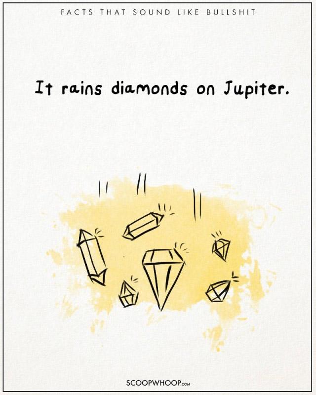 Mưa kim cương trên sao mộc.
