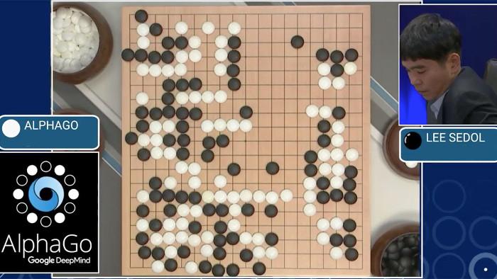 Cuộc so tài của máy tính AlphaGo và nhà vô địch cờ vây thế giới Le Sedol.