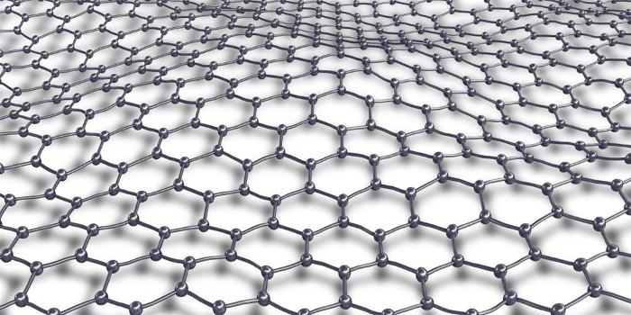 Mạng graphene gồm những nguyên tử carbon giống hệt nhau như thế này, nó có tính chất giống một kim loại hơn là chất bán dẫn.