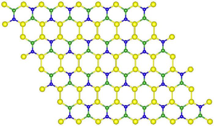 Cấu trúc của loại vật liệu hứa hẹn sẽ đánh bại graphene.