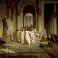 Ngày 15/3: Julius Caesar bị hàng chục nguyên lão sát hại