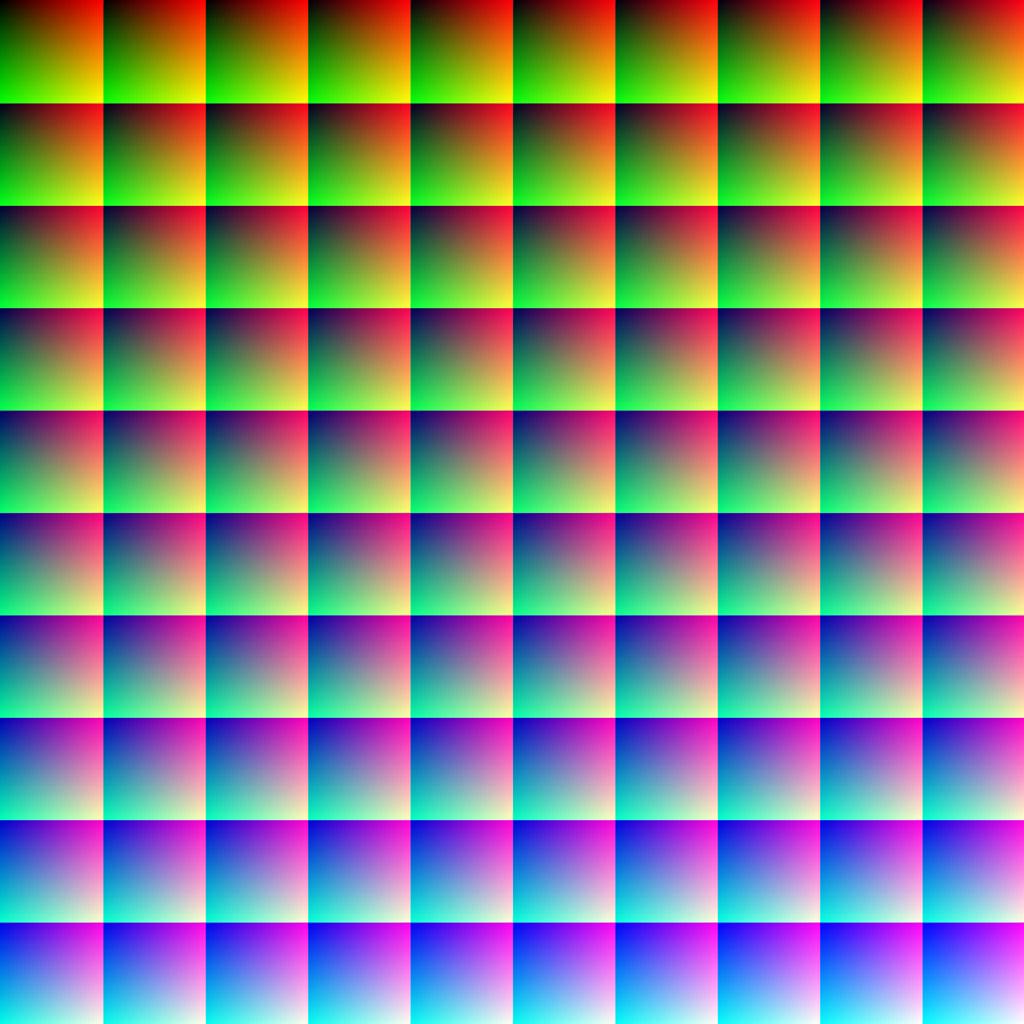 Đây là một bức tranh có 1 triệu màu khác nhau