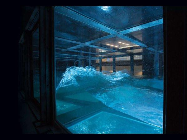 Chiếc bể này có thể chứa hơn 100 mét khối nước.