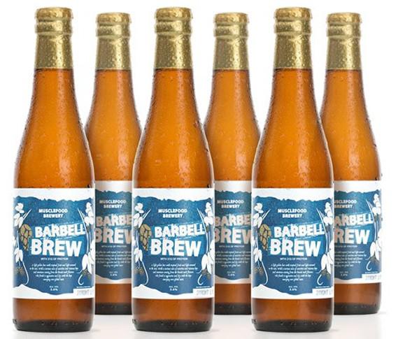"""Bia """"Barbell Brew"""" giúp người tiêu dùng không còn lo lắng đến vấn đề sức khỏe."""