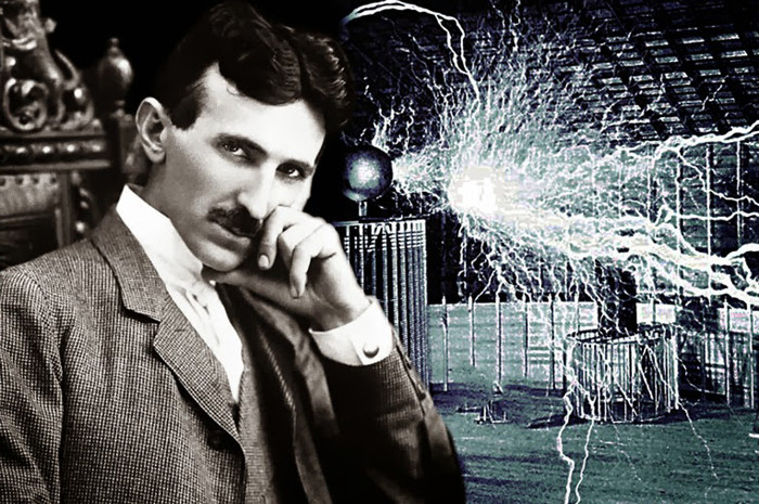 Nhà khoa học thiên tài Nikola Tesla.